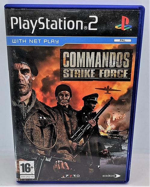 Commandos: Strike Force for Sony PlayStation 2 PS2