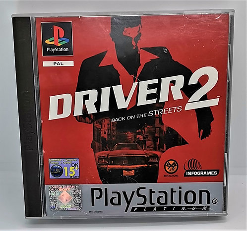 Driver 2 for Sony PlayStation PS1
