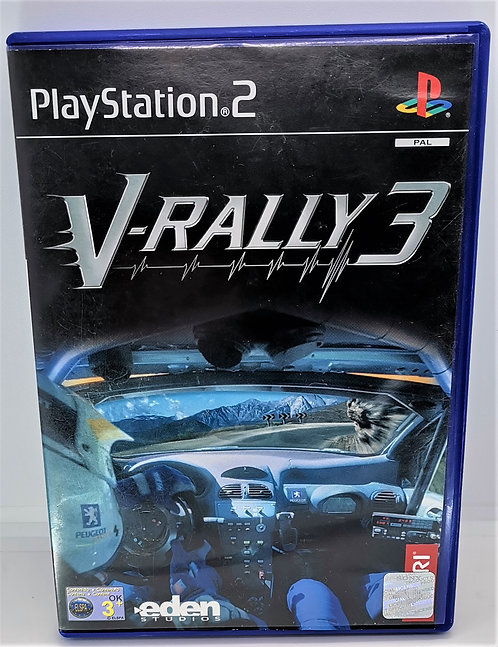 V-Rally 3 for Sony PlayStation 2 PS2