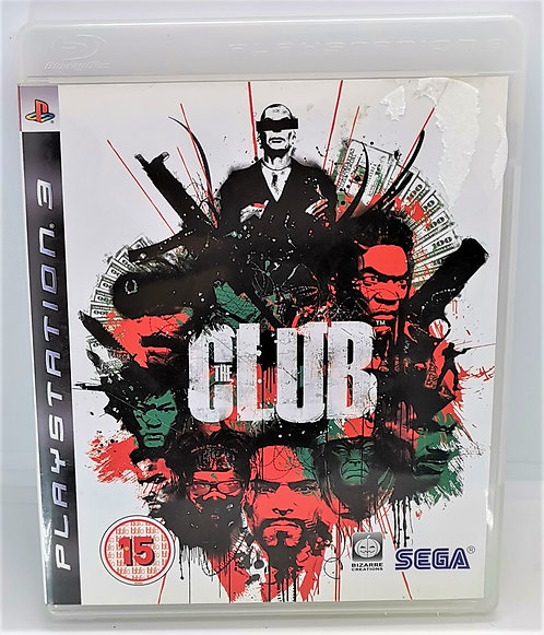 The Club for Sony PlayStation 3 PS3
