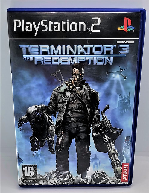 Terminator 3: The Redemption for Sony PlayStation 2 PS2