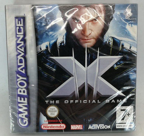 X-Men: The Official Game for Nintendo Game Boy Advance GBA