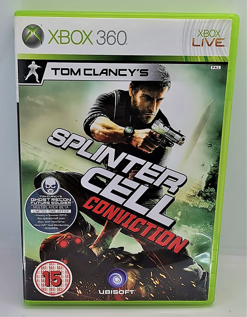 Tom Clancy's Splinter Cell: Conviction for Microsoft Xbox 360