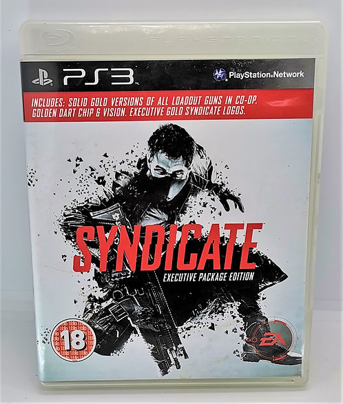 Syndicate for Sony PlayStation 3 PS3