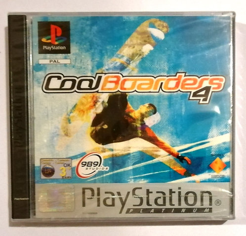 Cool Boarders 4 for Sony PlayStation PS1