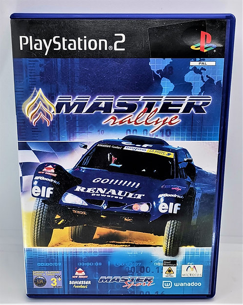 Master Rallye for Sony PlayStation 2 PS2