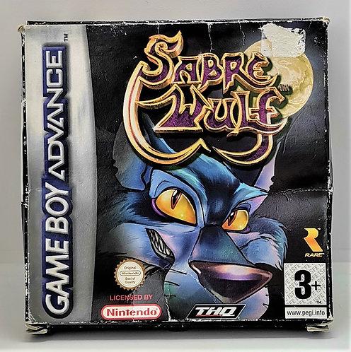Sabre Wulf for Nintendo Game Boy Advance GBA