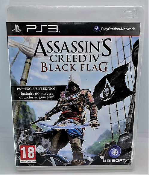 Assassin's Creed IV: Black Flag for Sony PlayStation 3 PS3
