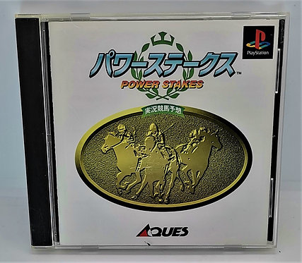Power Stakes for Sony PlayStation PS1