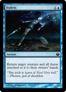 MAGIC THE GATHERING JOURNEY INTO NYX Card - 041/165 : Hubris