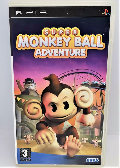 Super Monkey Ball Adventure for Sony PlayStation Portable PSP
