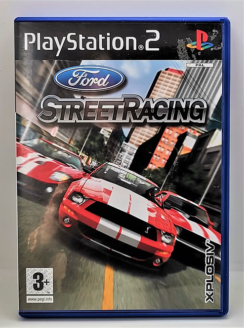 Ford Street Racing for Sony PlayStation 2 PS2