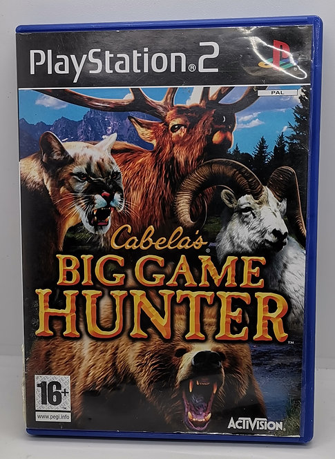 Cabela's Big Game Hunter 2008 for Sony PlayStation 2 PS2