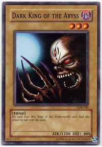 Yu-Gi-Oh! Card LOB-E016 Dark King of the Abyss