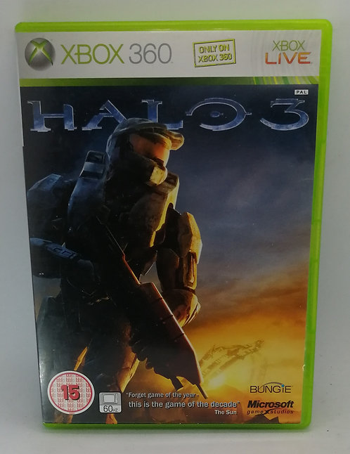 Halo 3 for Microsoft Xbox 360