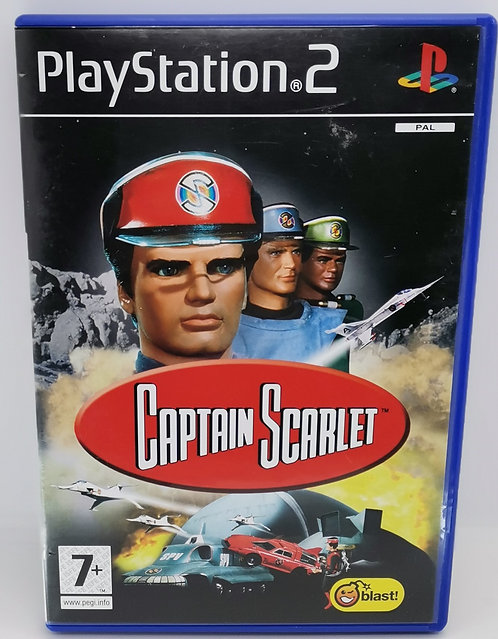 Captain Scarlet for Sony PlayStation 2 PS2