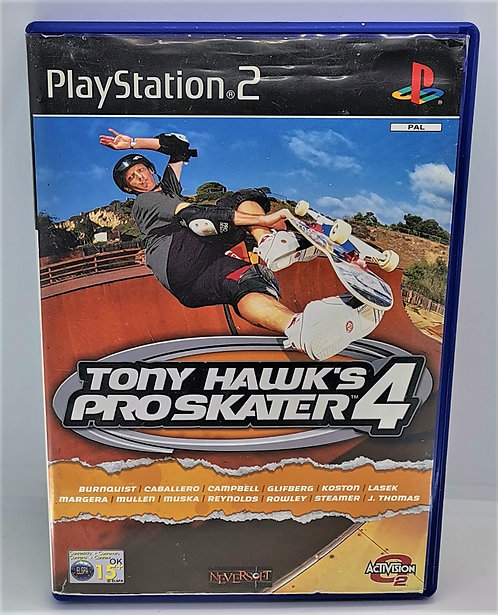 Tony Hawk's Pro Skater 4 for Sony PlayStation 2 PS2