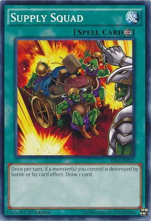 Yu-Gi-Oh! Card YS14-EN022 Supply Squad 1st Edition