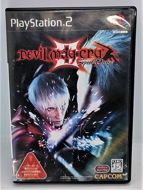 Devil May Cry 3: Special Edition for Sony PlayStation 2 PS2