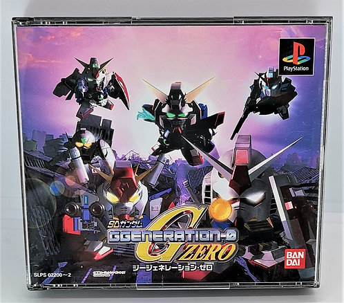 SD Gundam G Generation Zero for Sony PlayStation PS1