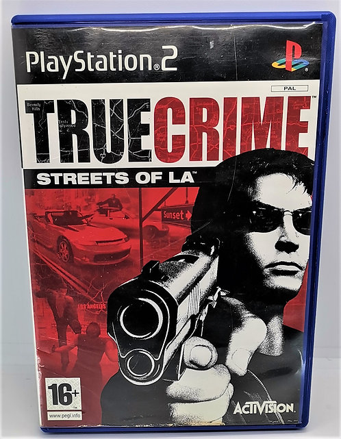 True Crime: Streets of LA for Sony PlayStation 2 PS2