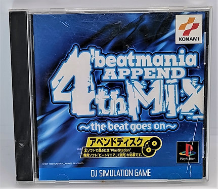 Beatmania Append 4th Mix for Sony PlayStation PS1