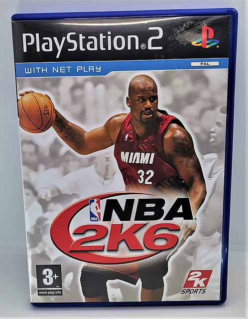 NBA 2K6 for Sony PlayStation 2 PS2