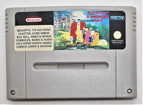 The Addams Family: Pugsley's Scavenger Hunt for Super Nintendo SNES