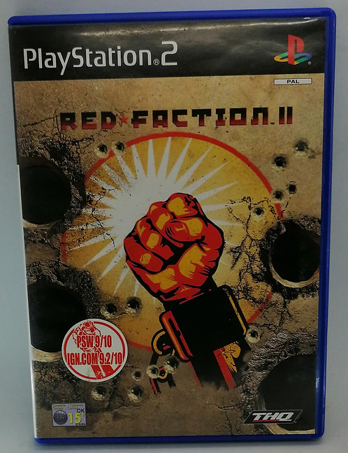 Red Faction II (2) for Sony PlayStation 2 PS2