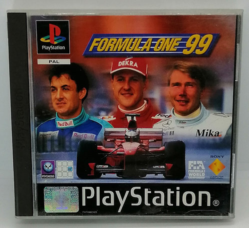 Formula One 99 for Sony PlayStation PS1