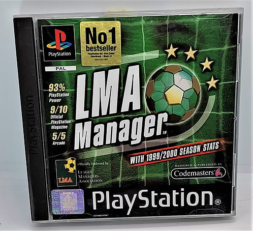 LMA Manager for Sony PlayStation PS1