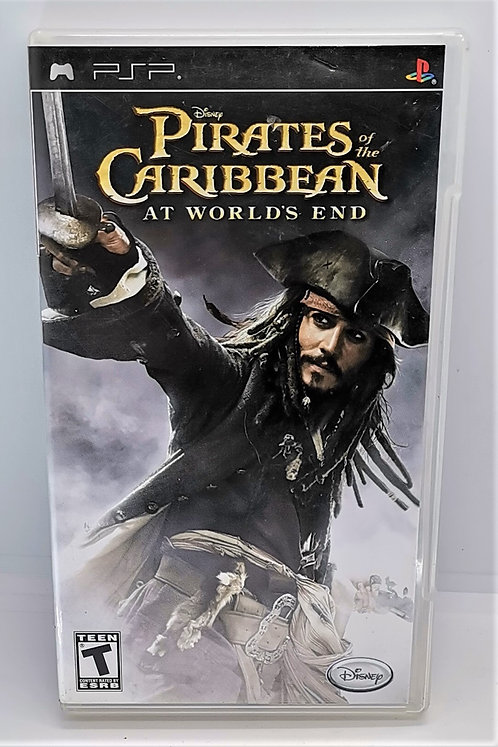 Pirates of the Caribbean: At World's End for Sony PlayStation Portable PSP
