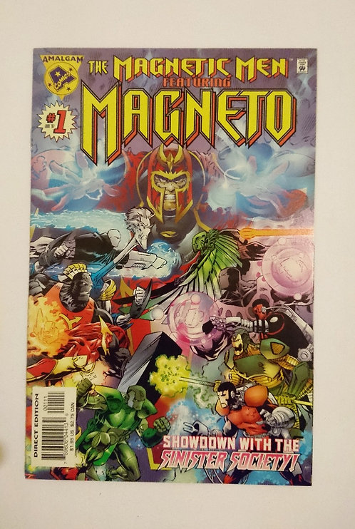 Magnetic Men featuring Magneto #1