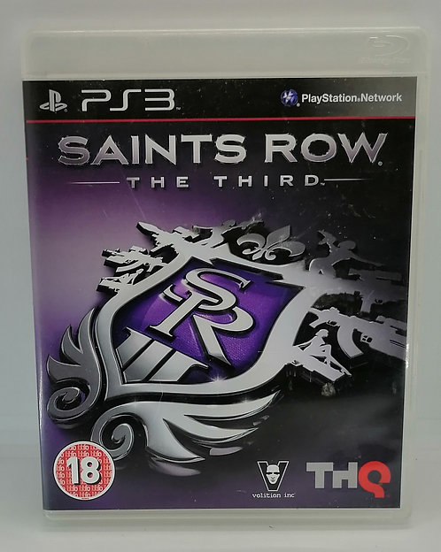 Saints Row: The Third for Sony PlayStation 3 PS3