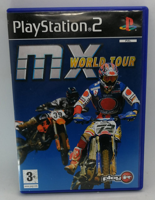 MX World Tour for Sony PlayStation 2 PS2