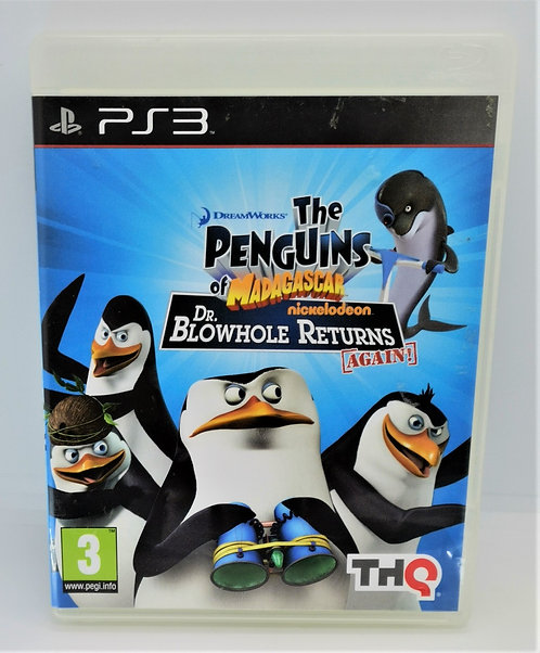 The Penguins of Madagascar: Dr. Blowhole Returns Again! for Sony PlayStation