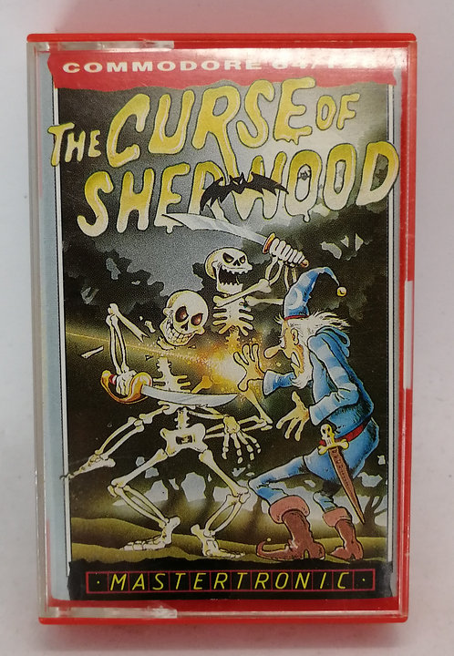 The Curse of Sherwood for Commodore 64 C64