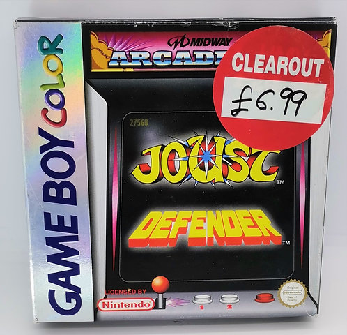 Midway Arcade Hits: Defender / Joust for Nintendo Game Boy