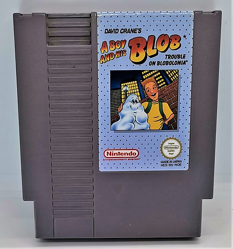 A Boy and His Blob: Trouble on Blobolonia for Nintendo NES