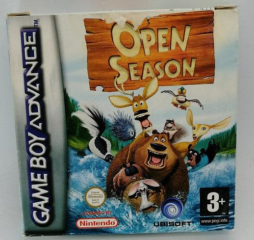 Open Season for Nintendo Game Boy Advance GBA