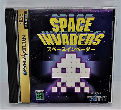 Space Invaders for Sega Saturn