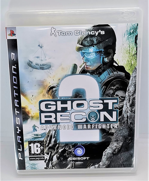 Tom Clancy's Ghost Recon Advanced Warfighter 2 for Sony PlayStation 3 PS3