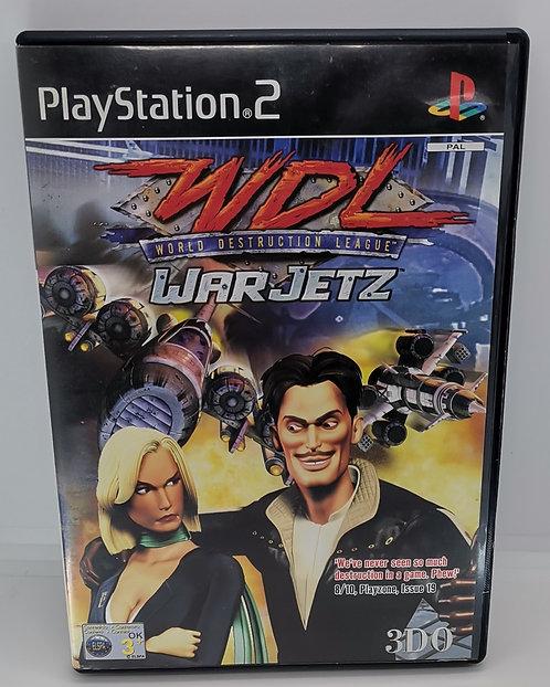 World Destruction League: WarJetz for Sony PlayStation 2 PS2