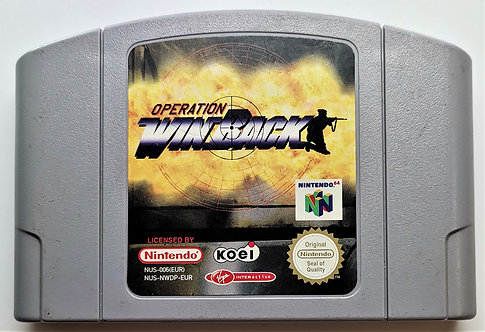 Operation WinBack for Nintendo N64