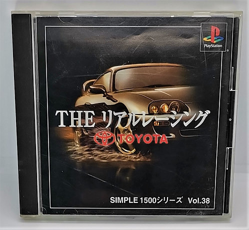 Simple 1500 Series Vol. 38 - The Real Racing - Toyota for Sony PlayStation PS1