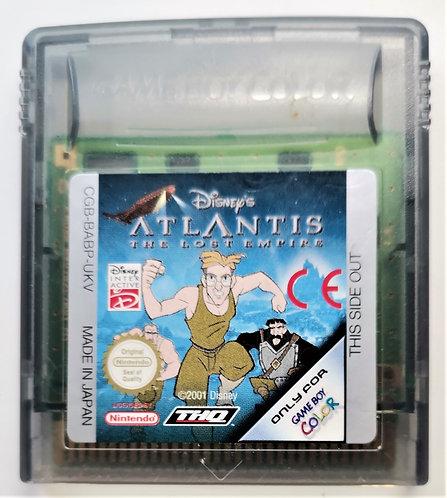 Disney's Atlantis: The Lost Empire for Nintendo Game Boy Color