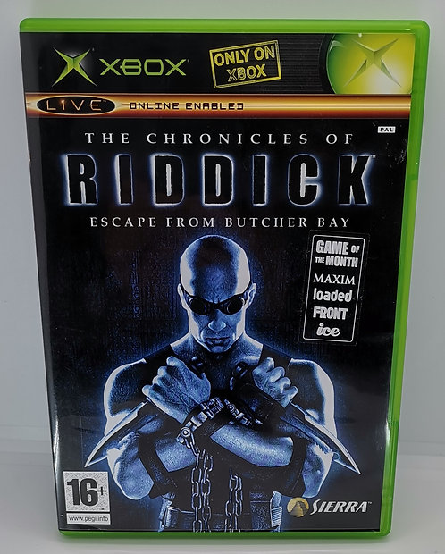 The Chronicles of Riddick: Escape from Butcher Bay for Microsoft Xbox