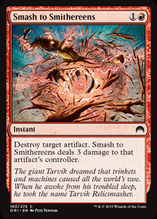 MAGIC THE GATHERING MAGIC ORIGINS Single Card - 163/272 : Smash to Smithereens