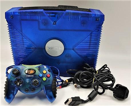 Microsoft Xbox Crystal Ice Blue Variant Console