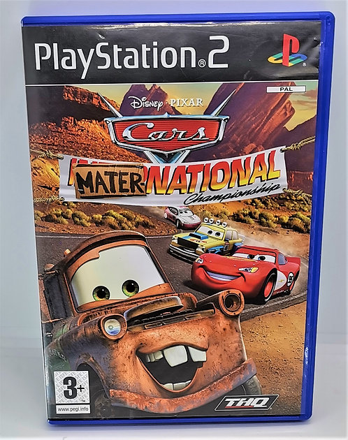 Cars: Mater-National Championship for Sony PlayStation 2 PS2
